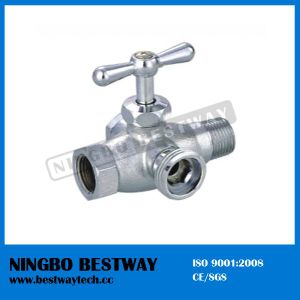 Brass Toilet Valve 4 Way Washing Angle Valve (BW-A45) pictures & photos
