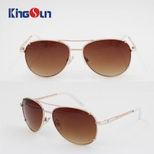 Hot Sale Metal Sunglasses with AC Lenses pictures & photos