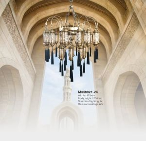 Church Decorative Metal Arabia Chandelier (KAM008921-24) pictures & photos