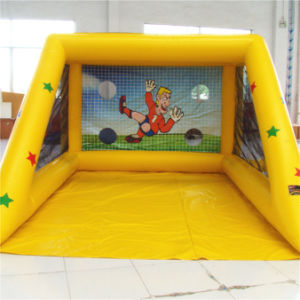 Yellow Inflatables Football Games for Kid (AQ1828-1) pictures & photos