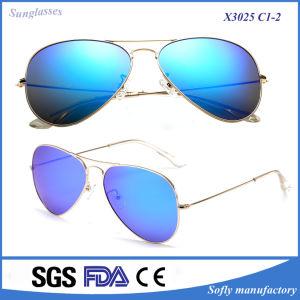 Promotion Gift Custom Logo Xiamen Pilot Metal Sunglasses pictures & photos