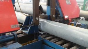 Band Saw Machine Pipe Cutting pictures & photos