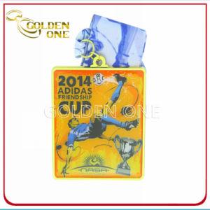 Custom Fancy Design Full Color Printed Sport Medallion pictures & photos
