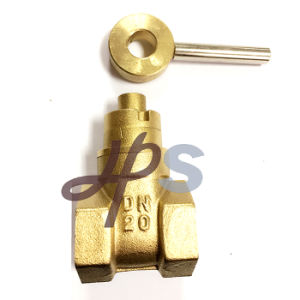Forged Magnetic Lockable Brass Gate Valve pictures & photos