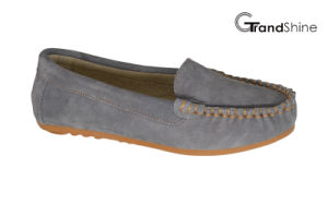 Women′s Moccasin Casual Driving Shoes Slip on Footwear pictures & photos