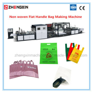 Automatic (4-in-1) Non Woven Flat Bag Making Machine (ZXL-D700) pictures & photos