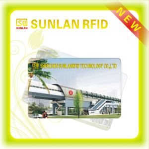 Sunlanrfid OEM Smart Cards/RFID Metro Card/Subway Card/Bus Card for Access Control with Mf1 1k S50 /4k S70 Chip (SL-1003) pictures & photos