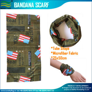 Microfiber Polyester 120GSM Bandana (NF20F20011) pictures & photos
