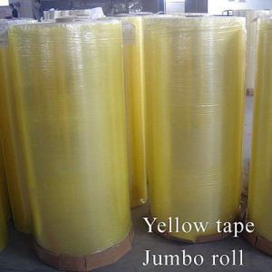 Hogh Quality Weijie OPP Adhesive Packing Tape Jumbo Roll pictures & photos