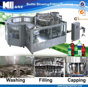 Carbonated Beverage Bottle Filling Machinery with New Technic pictures & photos