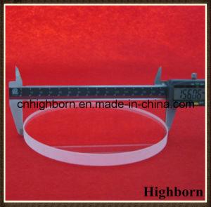 Round Thick Fire Polish Silica Quartz Glass Plate pictures & photos
