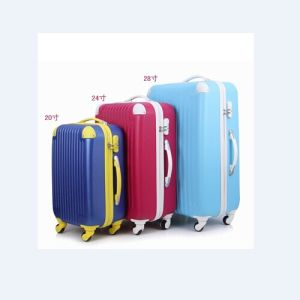 Colourful Trolley Luggage Sets pictures & photos