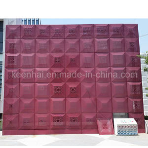 PVDF Coated Metal Perforated Aluminum Facade Panel pictures & photos