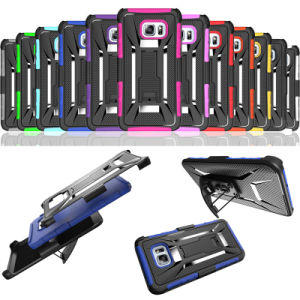 Cell Phone Case Belt Clip Kickstand Combo Cases for Samsung Galaxy S6 Edge