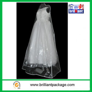 Wholesale Simple Design PEVA Bridal Cover/Wedding Dress Covers pictures & photos