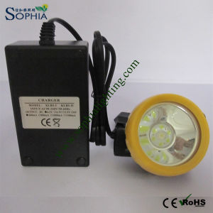 New 2200mAh LED Headlight, LED Headlamp with CE Atex Approval