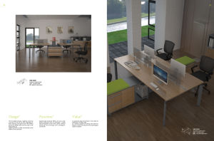 New Design Modern Furniture Office Desk (HY5013)