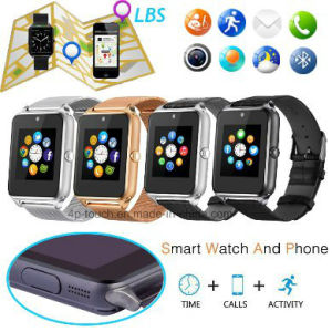 2017 Stainless Steel Smart Watch Phone with SIM Card Slot pictures & photos