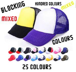 Wholesale Multicolour 5panels Net Baseball Caps pictures & photos