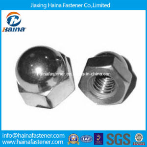 Stainless Steel 304 316 Hexagon Cap Nuts DIN917 pictures & photos