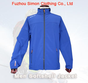 Winter Men Fashion Softshell Jacket pictures & photos