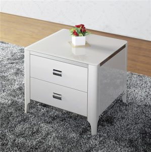 Bedroom Side Table with Two Drawer (CJ-193B) pictures & photos
