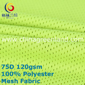Polyester Weft Knitted Mesh Fabric for Textile Sportswear (GLLML389) pictures & photos