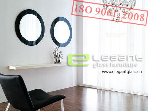 Black Round Makeup Mirror in Living Room Bedroom or Bath Room pictures & photos