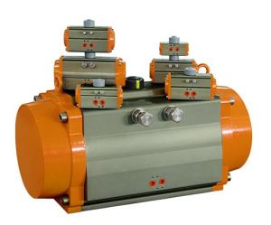 Pneumatic Actuator with Double & Single Acting