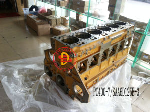 Komatsu Excavator Cylinder Block for PC400-7/SAA6d125e-3 pictures & photos
