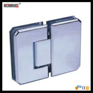 Beveled Edges 180 Degree Glass Clamp (HR1400E-4) pictures & photos