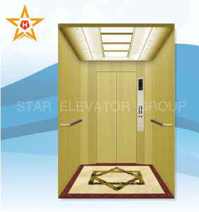 Yellow Laminated Steel Passenger Lift (VVVF) Xr-P57