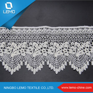 100% Cotton Embroidery Chemical Lace pictures & photos