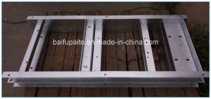 Hot Galvanised Steel Pallet Iron Base Warehouse Stackable Durable Storage Steel Pallet pictures & photos