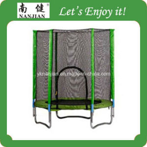 Nj Trampoline Bed UK, 10 Ft Trampoline with Safety Net, Trampoline Fitness pictures & photos