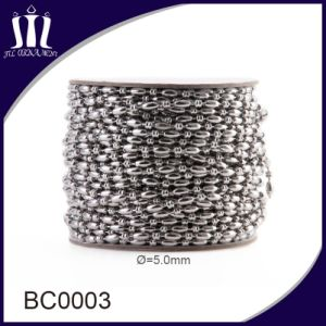 Various Sizes of Metal Ball Bead Chain in a Roll pictures & photos