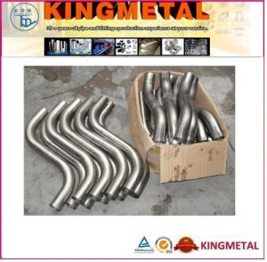 Stainless Steel S Shape Pipe Bend pictures & photos