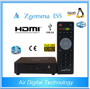 Powerful and Faster Running IPTV Box Zgemma I55 Dual Core Set Top Box pictures & photos