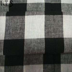 Linen/Cotton Woven L/C Yarn Dyed Fabric for Shirts/Dress Rlslc32-5 pictures & photos