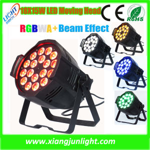 18X15W RGBWA 5 in 1 LED PAR Can Light pictures & photos