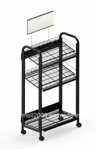 Beverage Rack Metal Rack Store Display with CE (G-DS03) pictures & photos
