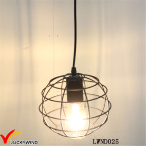 Rustic Vintage Wire Metal Ball Indoor Pendant Lamp pictures & photos