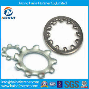 DIN6797 Internal and External Tooth Lock Washer (gasket) pictures & photos