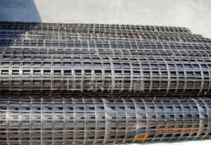 Geogrid Road Construction Material, Steel Plastic Geogrid, Geogrid Gsz80 pictures & photos