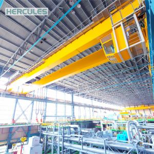 Hercules Professional Double Girder Overhead Crane with Hook pictures & photos