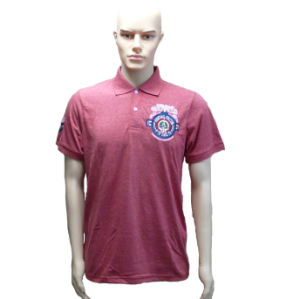 Men′s Polo Shirt with Embroidery Logo pictures & photos