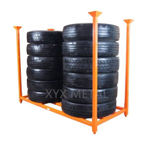 Heavy Duty Stackable Stacked Rack for Truck, Bus, Aircraft & Military Tires pictures & photos