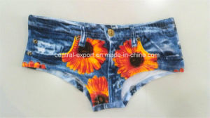Sublimation Printed New Style Fashion and Colorful Printed Lady Underwear pictures & photos