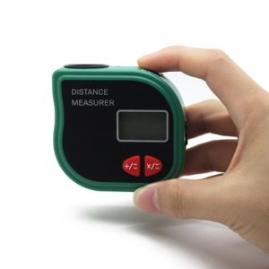 Cp3001 Ultrasonic Level Range Finder Handheld Rangefinder Distance Measurer with The Tape Measure and LED Display pictures & photos
