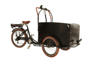 36V 250W Lithium Battery Tricycle Cargo Bicycle pictures & photos